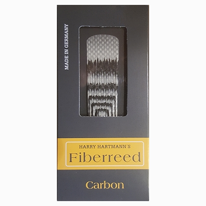 Harry Hartmann's Fiberreed Carbon for Sopransaxofon