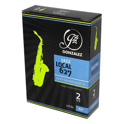Gonzalez Local 627 JAZZ for Altsaxofon